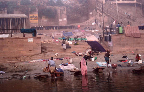 Life on the banks of the holy Ganges