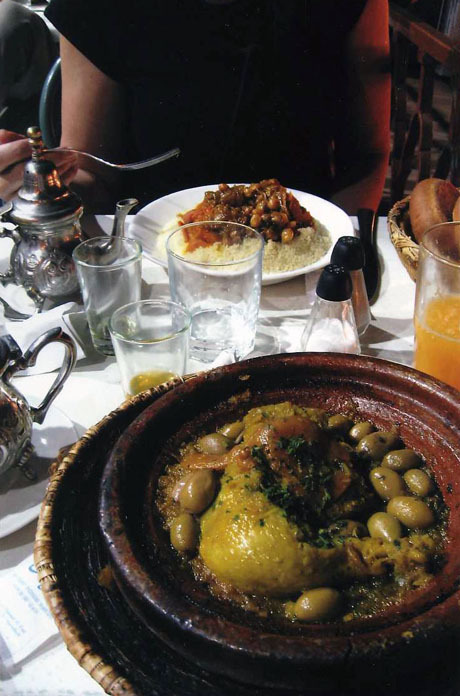 """Daily meals of """"tajine"""" throughout North Africa"""