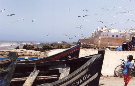 Memorable Essouria perched over the Atlantic