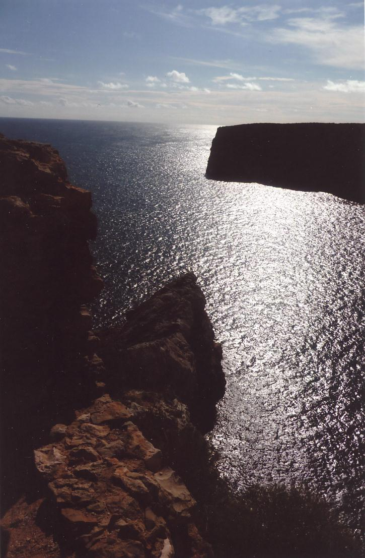 "The ""End of the World"" at Cabo de San Vicente, Algarve"