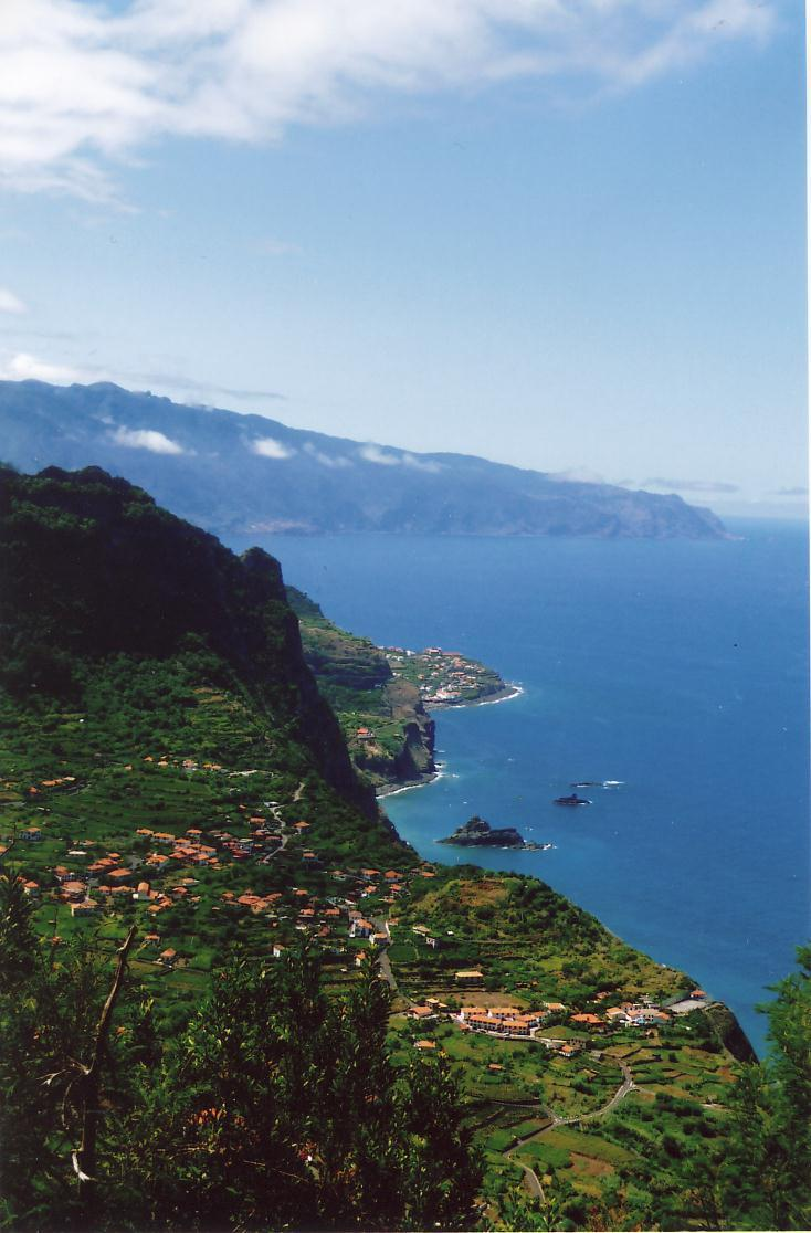 Madeira's breath-taking coastline