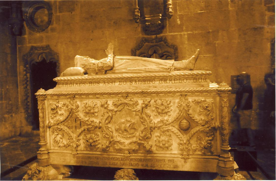 Crypt of Vasco de Gama at Mosteiro Dos Jeronimos in Belem, outside of Lisbon. Bonifacio's body was left at this monastery