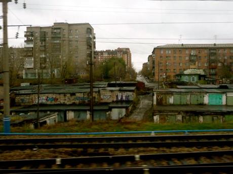 Approaching Irkutsk