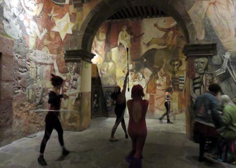 Performances at Instituto Allende