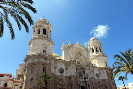 Cathedral in Casco Antiguo, Cadiz